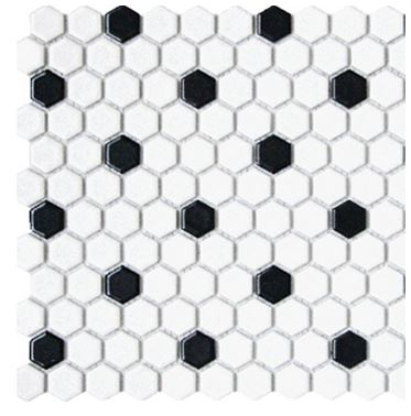 Alameda black-and-white-hexagons