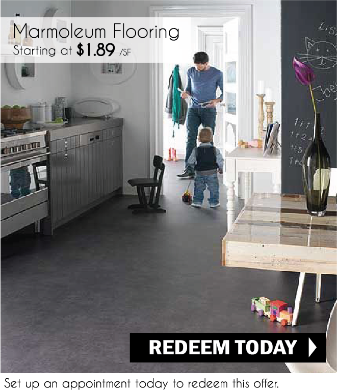 Marmoleum Discount Prices Installation