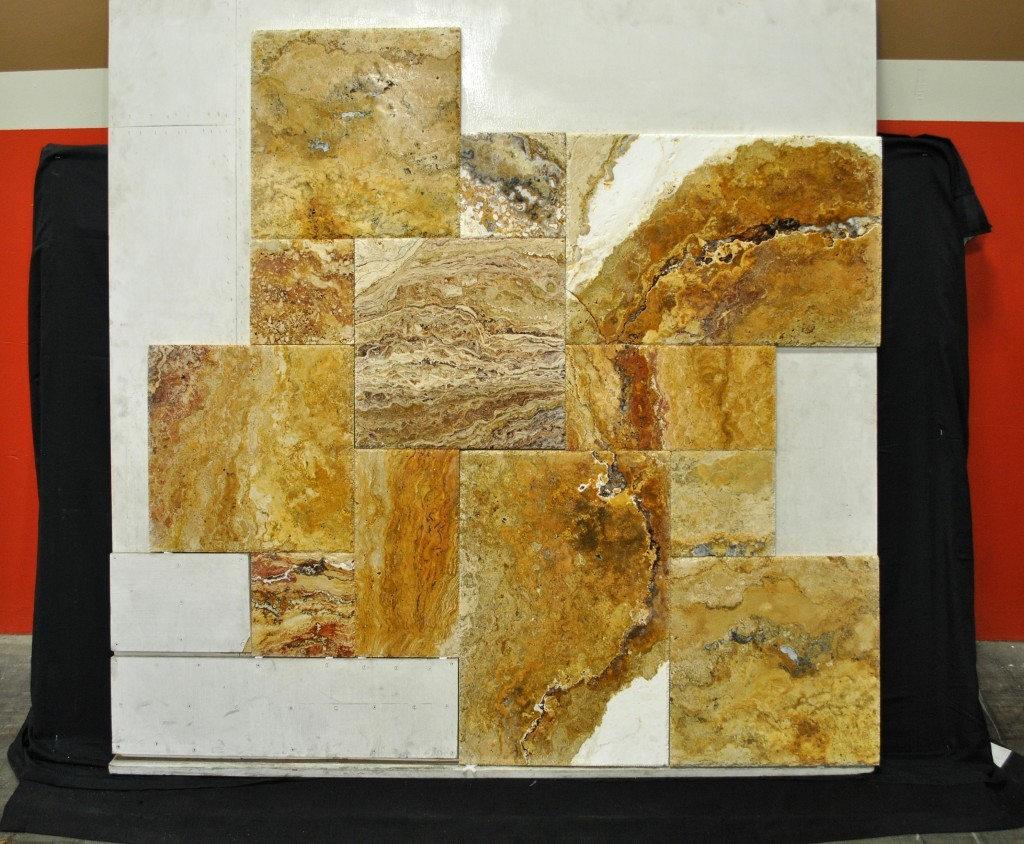 Travertino Davinci Travertine Versailles Pattern Oregon