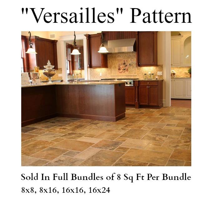 Travertine Versailles Pattern