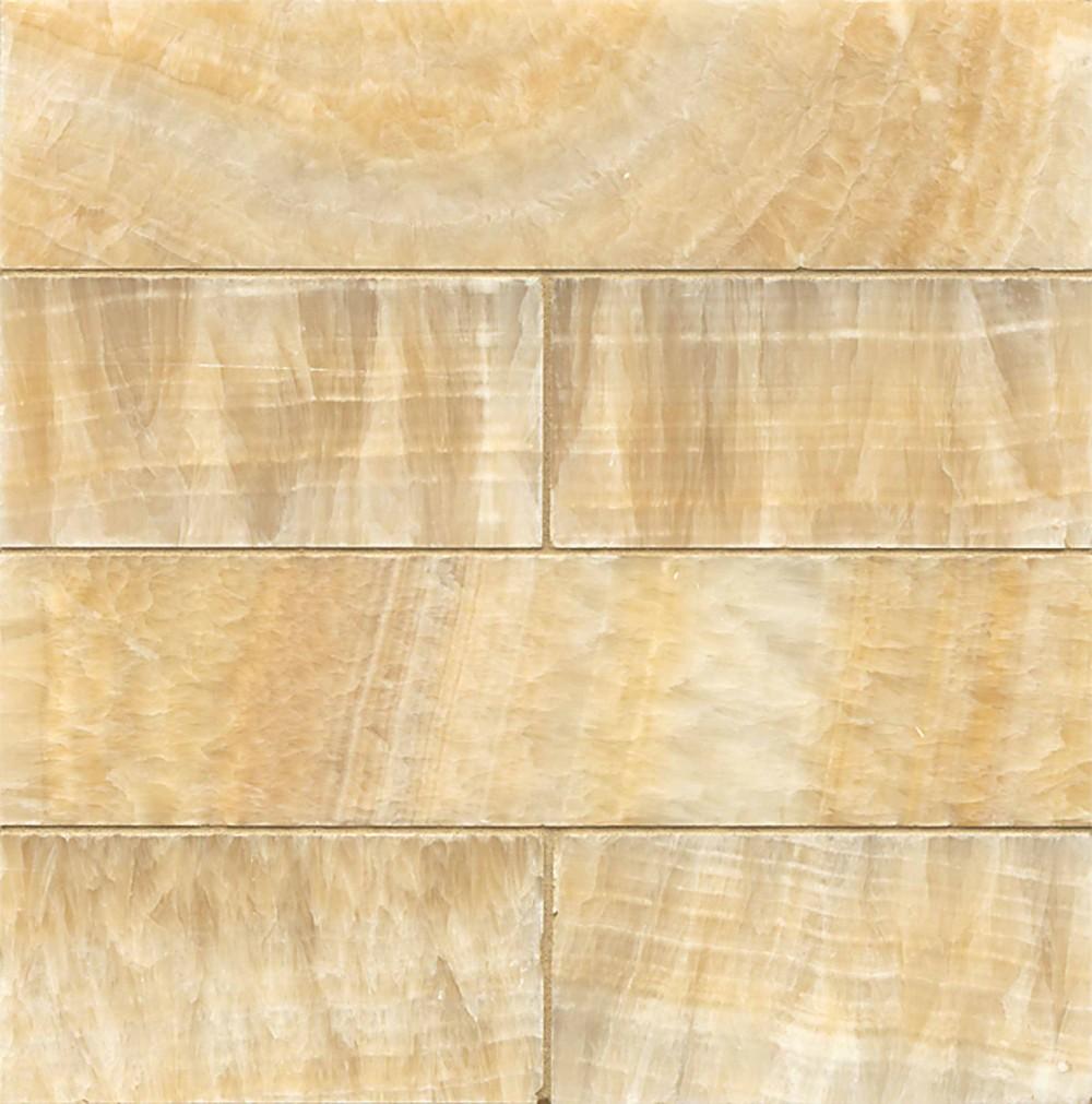 Butterscotch Onyx Honed 3x12