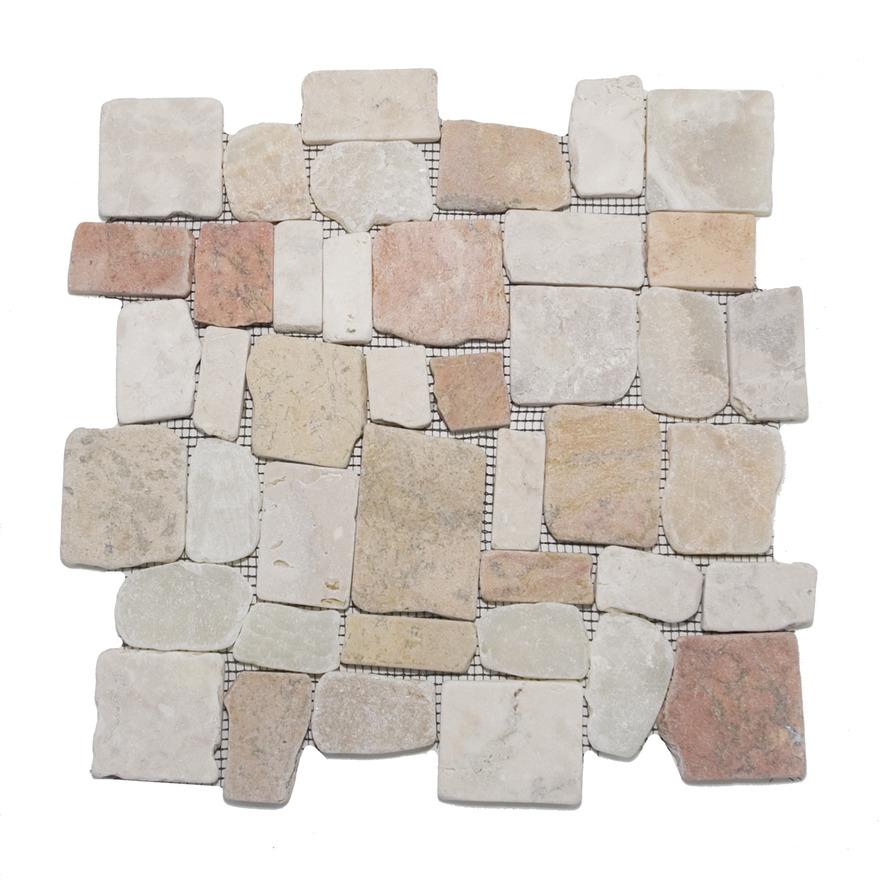 Bali Block Deluxe Mix Stone Mosaics Oregon City Carpet