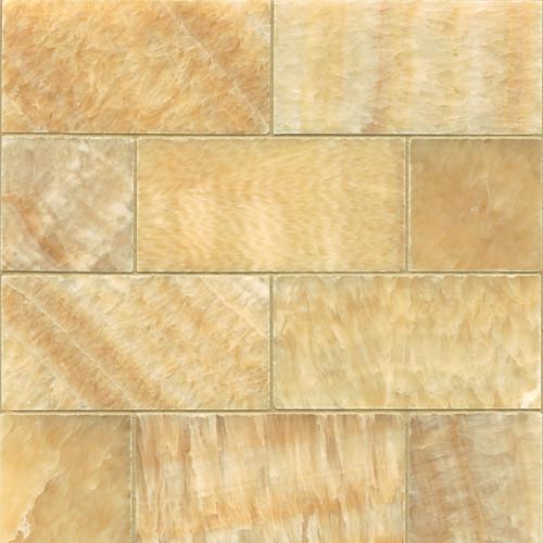 6073H-36 Butterscotch Onyx 3×6 Honed  ONXSWTHON0306H_1000