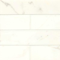 Calacatta Honed 3x12 Marble