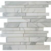 Calacatta Random Linear Marble Polished Mosaics