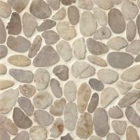 Pebble mosaic tiles