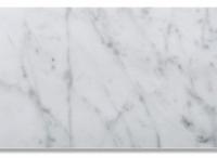 6x12 Honed Ocean White Marble
